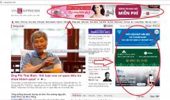 Quảng cáo trên báo VnExpress tiếp cận 34 triệu lượt khách mỗi ngày