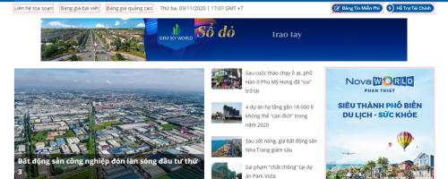quảng cáo trên Cafeland.vn